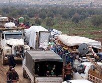 27 bin Suriyeli Türkiye sınırında!