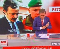 FOX TV FETÖ'cü diye eski SAT Komandosunun fotoğrafını kullandı!