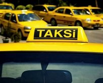 Taksicinin kirli oyunu kamerada