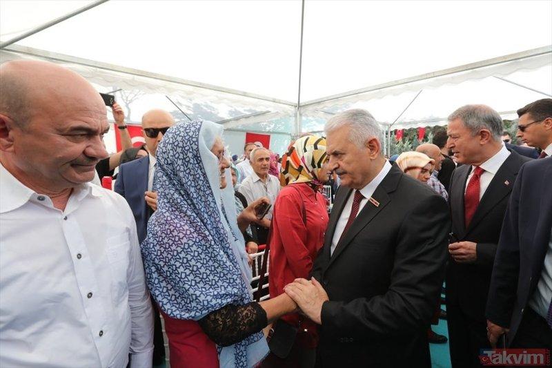 Ankarada şehitlikte duygu dolu anlar!
