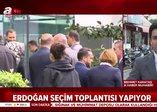 Başkan Erdoğan'dan AK Parti İl Başkanlığı'nda seçim toplantısı