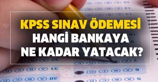 KPSS ÖSYM başvurusu yap! KPSS sınav ödemesi hangi bankaya yapılacak?