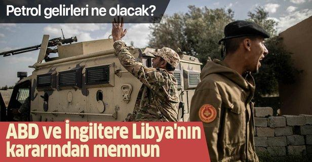 ABD ve İngiltere, Libya'nın kararından memnun