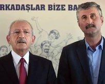 Terör sevici Alper Taş'tan Demirtaş'a selam