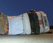 İstanbul Havalimanı yolunda trafik kazası