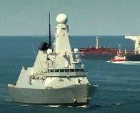 Krizde yeni hamle! Savaş gemisi Hürmüz'de