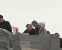Başkan Erdoğan Çamlıca Camii inşaatını inceledi