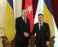 Başkan Erdoğan'dan Ukrayna'da kritik görüşme!