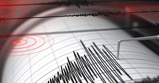 Çanakkalede korkutan deprem