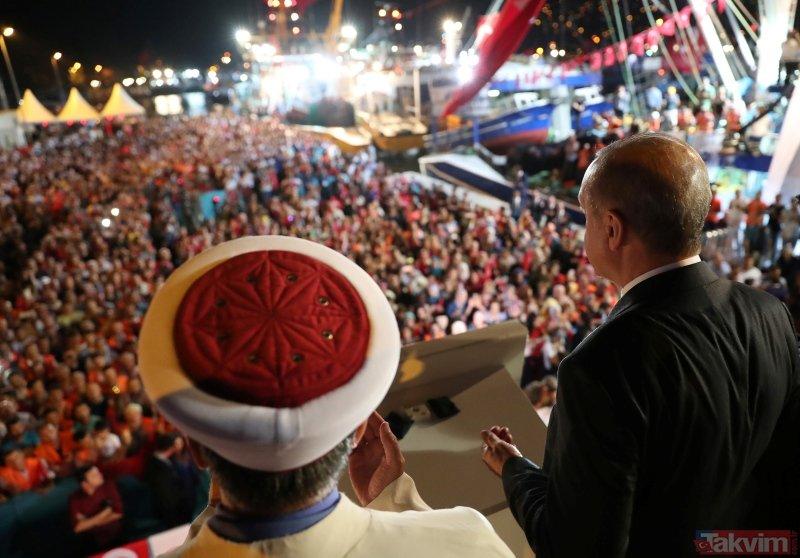 Erdoğan Sarıyerde balık av sezonunun açılışında konuştu
