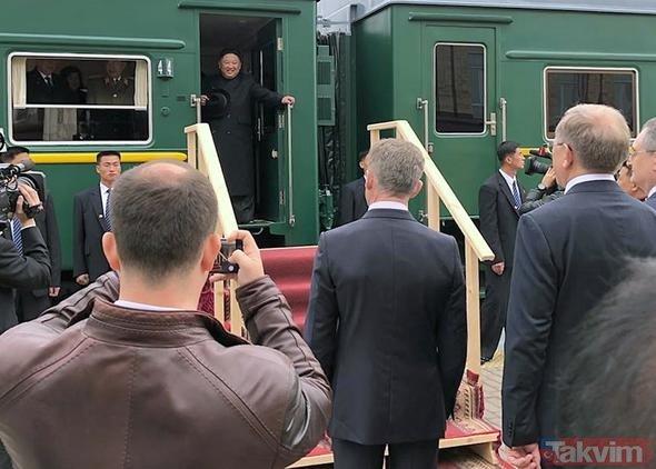 Kuzey Kore lideri Kim Jong Un gizemli treniyle Rusya'da! Dünya bunu konuşuyor