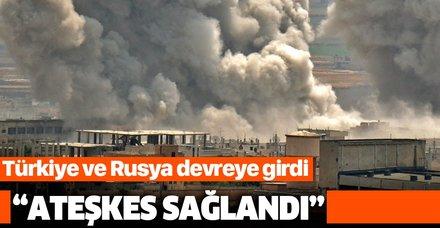 Rus medyası: Türkiye ve Rusya'nın arabuluculuğunda İdlib'de ateşkes sağlandı