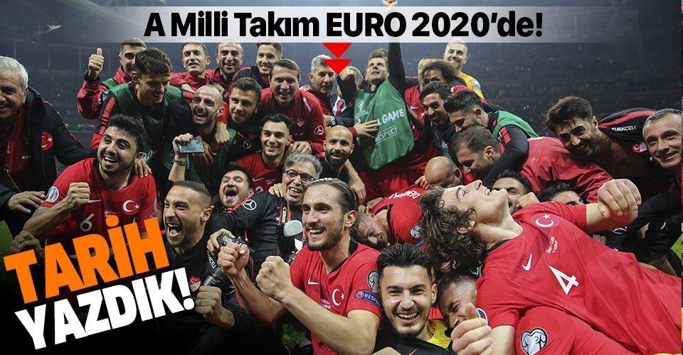 A Milli Takım EURO 2020'de! Türkiye 0-0 İzlanda (MAÇ SONUCU)