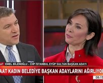 CHP'li Bilenoğlu büyük çam devirdi