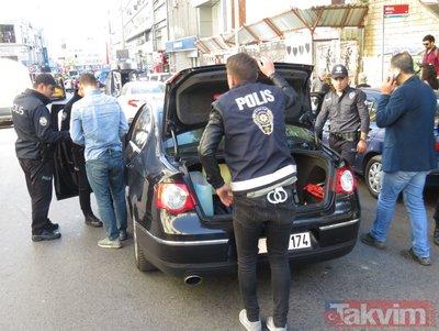 İstanbul'da hareketli dakikalar!  Kurt kapanı 2019-17 ile 39 ilçede durdurulan araçlar didik didik arandı
