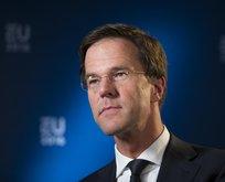 Hollanda Başbakanı Rutte'den Türkiye çıkışı