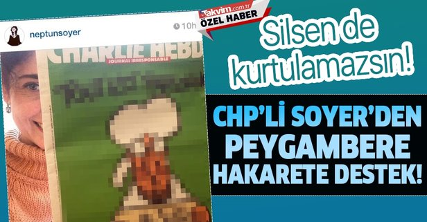Soyer'den Charlie Hebdo'nun skandal karikatürüne destek