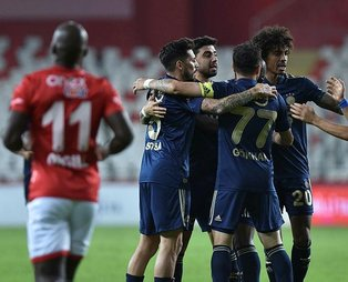 Antalyaspor 1-2 Fenerbahçe   MAÇ SONUCU