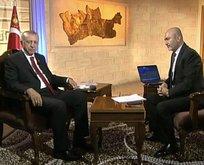 Cumhurbaşkanı Erdoğan  soruları yanıtlıyor