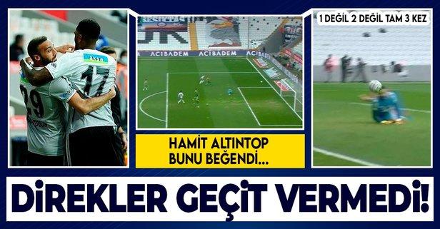 Beşiktaş, Alanyaspor karşısında direklere takıldı!
