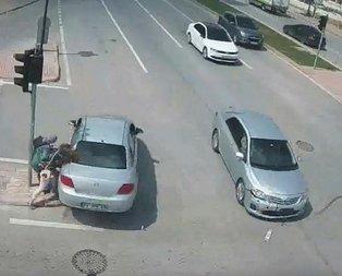 Konya'da feci kaza! Ölümden döndüler