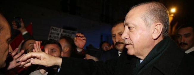 Fransada Erdoğan rüzgarı