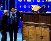 Başkan Erdoğan'a Kur'an-ı Kerim hediyesi