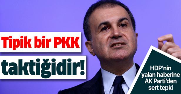 Tipik bir PKK taktiğidir!