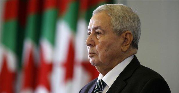 Cezayir Cumhurbaşkanı'ndan seçim uyarısı