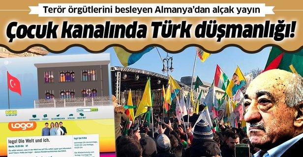 Çocuk kanalında Türk düşmanlığı