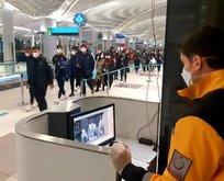 İstanbul Havalimanı'nda 'koronavirüs' tedbiri
