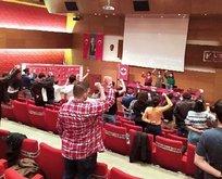 CHP'li belediye PKK destekçisi SGDF'yi salonda ağırladı