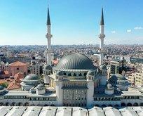 Taksim'e yapılan camide sona yaklaşıldı!