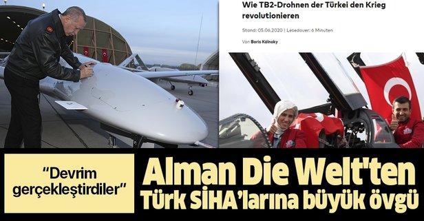 Die Welt'ten Türk SİHA'larına büyük övgü