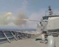 Türk donanmasından dosta güven düşmana gözdağı