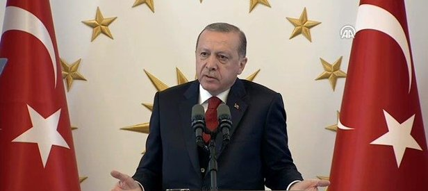 Erdoğan açıkladı: ABD üretimi silahlar kullanılmayacak