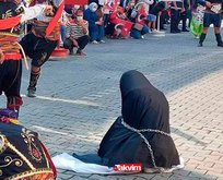 Zincire vurulan kadın temsili olayı nedir?