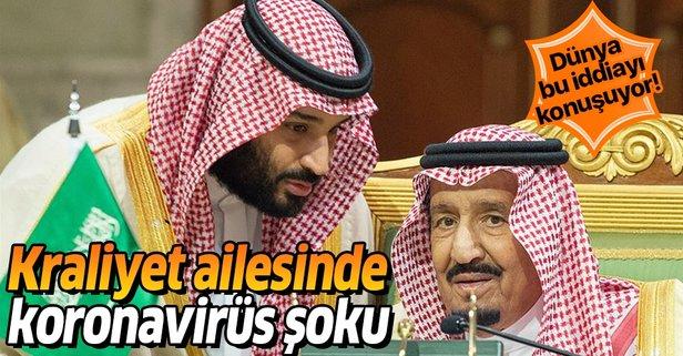 Suud ailesine şok! Salgın kraliyet ailesine sıçradı