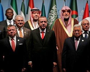Erdoğan İslam dünyasının lideri oldu