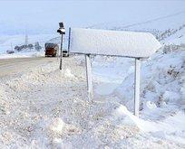 Meteorolojiden o bölgelere fırtına ve kar uyarısı