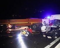 Anadolu Otoyolu'nda trafik kazası: 6 yaralı
