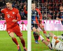 Bundesliga'da 23. haftanın futbolcusu Robert Lewandowski oldu
