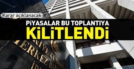 Merkez Bankası faiz kararını bugün verecek! TCMB Merkez Bankası faiz konusunda ne karar verecek?