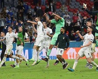 EURO 2020'de İtalya yarı finalde!