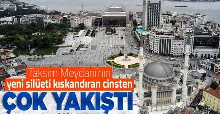 Taksim'e iki eser birden!