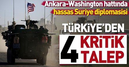 Ankara-Washington hattında hassas Suriye diplomasisi | İşte 4 kritik talep
