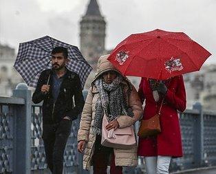 Meteoroloji'den 5 ile son dakika yağış uyarısı