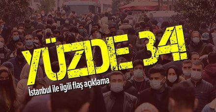 İstanbul'da koronavirüs vakalarında dikkat çeken tablo!