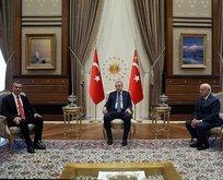 Erdoğan, KKTC Cumhuriyet Meclisi Başkanı Uluçay'ı kabul etti