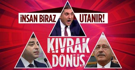 Keşke Selahattin Demirtaş Cumhurbaşkanı seçilse diyen CHP'li Aykut Erdoğdu çark etti!